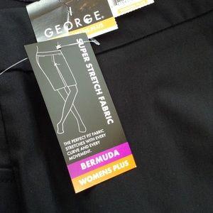 bb25ee3ba743f George Shorts - George women s plus super stretch bermuda shorts